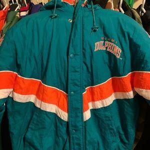 Miami Dolphins Starter Jacket Vintage